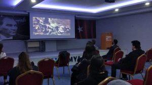 Bursa Simya Koleji' nde 29 Ekim Cumhuriyet Bayramı Kutlaması