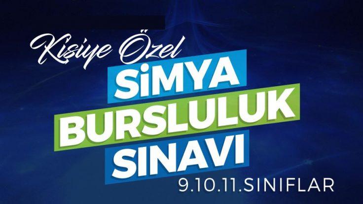 Bursa Simya Koleji Anadolu Lisesi Kişiye Özel Bursluluk Sınavı